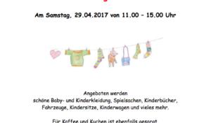 Veranstaltung: Wiehl – Kindersachenflohmarkt