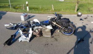 Wipperfürth: Kradfahrer bei Zusammenstoß schwer verletzt