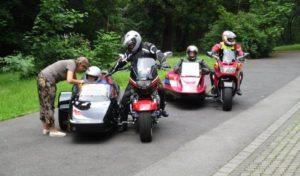 Oberberg: Motorrad-Gespannfahrer gesucht