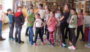 Tanzprojekt  im Jugendheim Drabenderhöhe