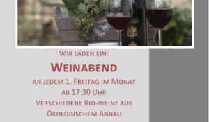 Eckenhagen: Weinabend in der KaffeePause