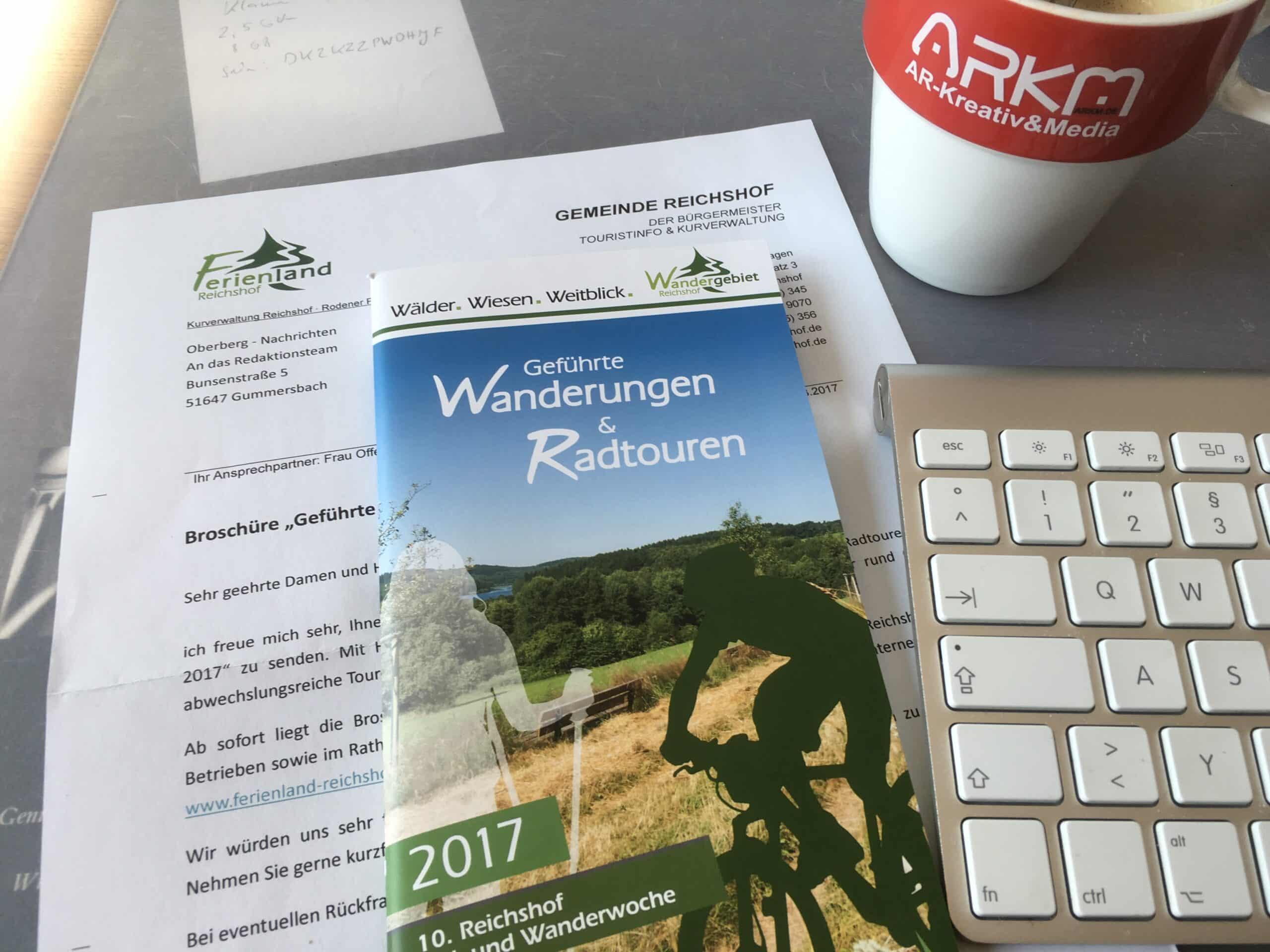 Naherholung in Oberberg - Das sind auch die geführten Wanderungen und Radtouren im Ferienland Reichshof.
