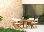 Gartensaison ist da mit stilvollen Möbeln von Unopiù