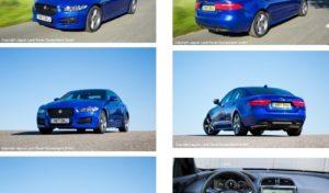 Neue Modellreihen von Jaguar XE, XF und F-PACE 2018