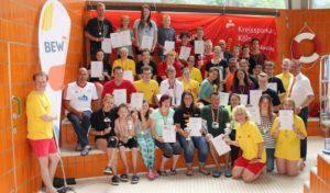 Überwältigende Resonanz auf 24-Stunden-Schwimmen der DLRG Wipperfürth zur 800 Jahre Wipperfürth Feier