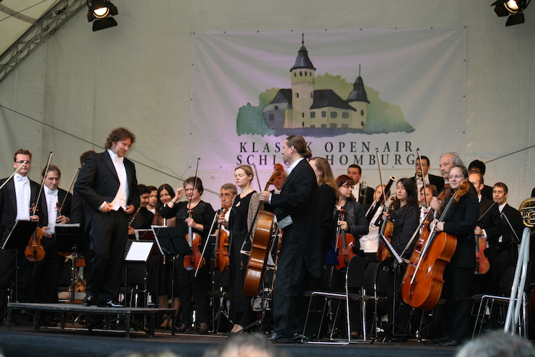Das Klassik Open Air auf Schloss Homburg findet geschütz statt