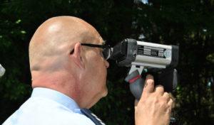 Angekündigte Geschwindigkeitsmessungen der Polizei