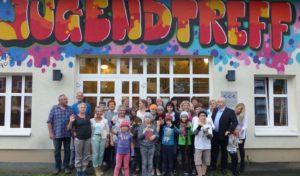 Kindern aus Weißrussland im Jugendtreff Bergneustadt