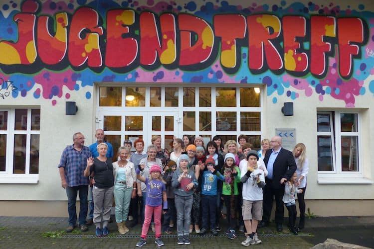 Photo of Kindern aus Weißrussland im Jugendtreff Bergneustadt