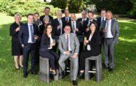 Volksbank-Mitarbeiter feiern Jubiläum