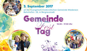 Wiedenest – Gemeindefest und Eröffnung der Raststation am 03.09.2017