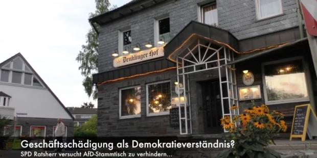 Video: Geschäftsschädigung als Demokratieverständnis ?