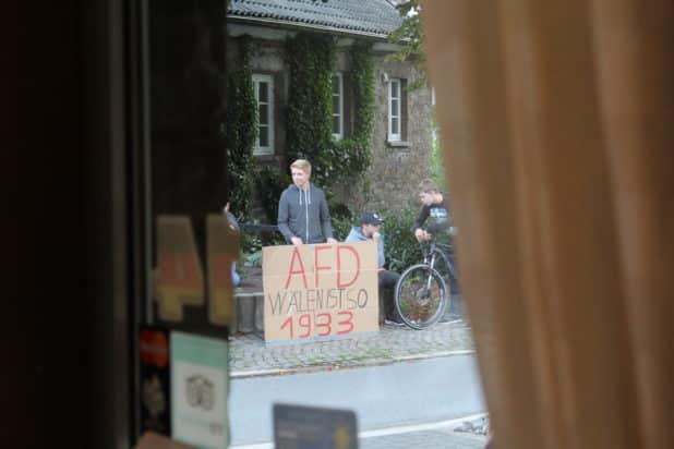 Demonstration von Rot-Grüner Bildungspolitik? Wälen, oder vielleicht besser Wählen? ...