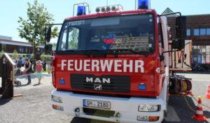 In Wipperfürther Innenstadt wurden Mülleimer in Brand gesetzt