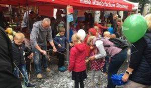So feierte die Waldorfschule Oberberg den Weltkindertag