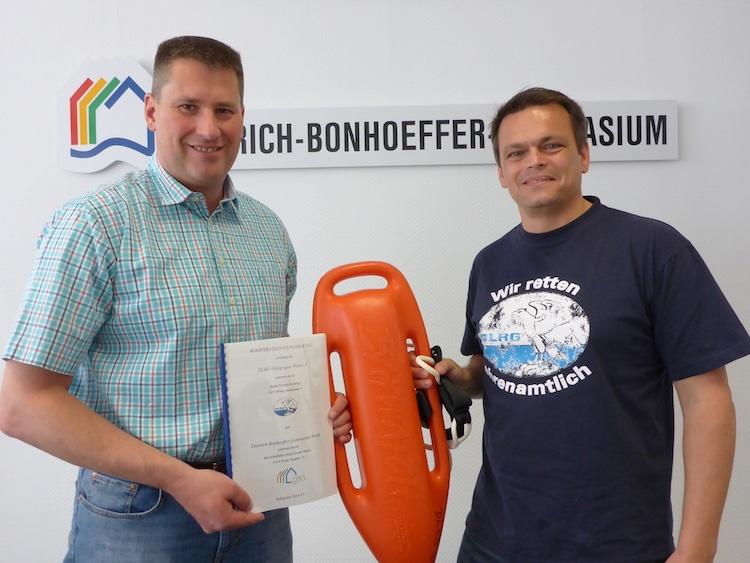 Photo of Gymnasium Wiehl und DLRG kooperieren