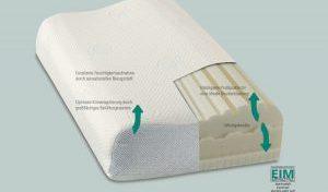 Das richtige Kissen kann bei Nackenverspannung helfen