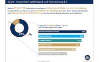 """Mittelstand – Industrie bereit für """"Finanzierung 4.0"""""""