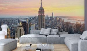 New York ist immer eine gute Deko-Idee: Fototapete New York – Einrichtung auf weltweitem Niveau
