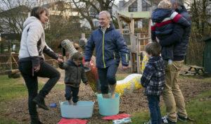 Ein Bewegungskindergarten wird Kneipp-Kindergarten