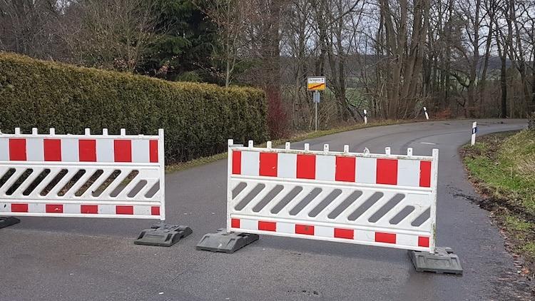 Photo of Straßensperrungen in der Gemeinde Lindlar