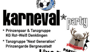 Karnevalsparty Bergneustadt – FC Wiedenest/Othetal bringt den Krawinkelsaal zum Schunkeln