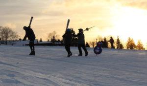 Wintersportsaison am Blockhaus ist eröffnet