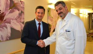 Kreiskrankenhaus Waldbröl hat neuen Chefarzt für Gefäßchirurgie
