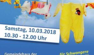 Im März findet ein Kinderkleider- und Spielzeugmarkt in Wiedenest statt