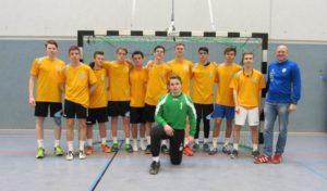 Handballer der Gesamtschule Marienheide im Landesfinale NRW