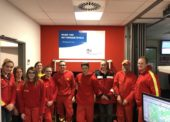 Jugend der DLRG Gummersbach e.V. besucht Rettungleitstelle