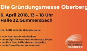 18. Oberbergische Gründungsmesse in der Halle 32