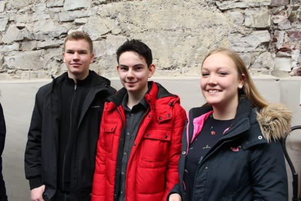 Interview auf der OBKarriere mit Schülern der Gesamtschule Reichshof.