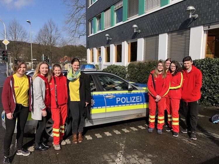 Photo of Jugendliche der DLRG Gummersbach auf Spurensuche bei der Polizei