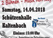 Musiker treffen sich wieder in der Schützenhalle Kaltenbach