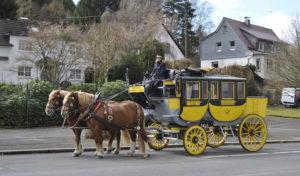 Die Oberbergische Postkutsche prägt Oberbergs Bild