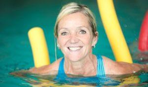 Den Tag mit Aqua-Fitness sportlich beginnen