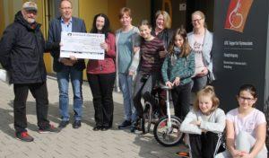 Förderverein des Aggertal-Gymnasiums erhält Spende von 650 Euro