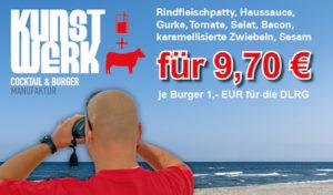 KunstWerk verkauft einen ehrenamtlichen Burger