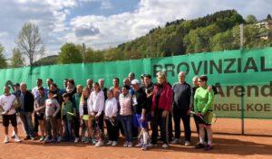 Rundum gelungene Saisoneröffnung der Tennisfreunde Bielstein