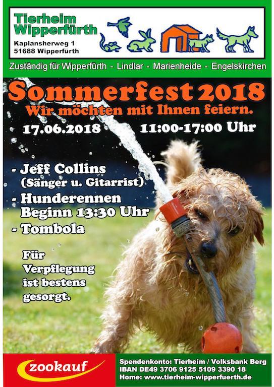 Photo of Das Tierheim Wipperfürth lädt zum Sommerfest ein