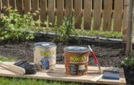 Sommertage nutzen und Holzzäune überarbeiten