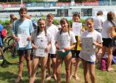 Gutes Mittelfeld bei den Landesmeisterschaften im Triathlon