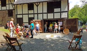 Historische Mühle und Museumsbäckerei auf Schloss Homburg