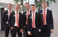 Startschuss für 5 fünf neuen Auszubildenden bei der Sparkasse Gummersbach-Bergneustadt