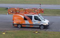 Mit mobiler Straßentechnik durch Wiehl