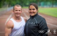 Laufanfänger trainiert mit Olympiasieger Fabian Hambüchen