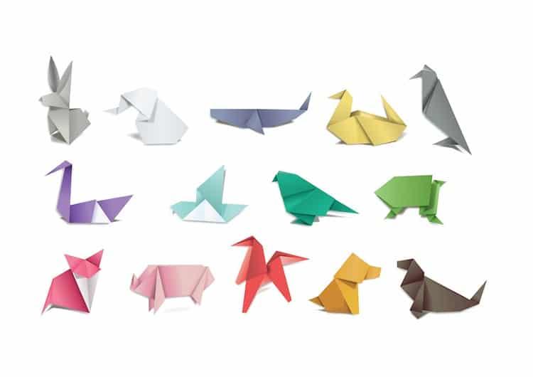 Origami Fliegender Vogel Anleitung Einen Fliegenden Origami Vogel