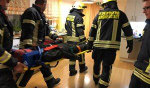 Feuerwehreinsatz bei Patienten im Wachkoma
