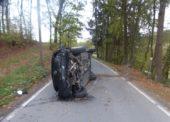 Zwei Leichtverletzte bei Unfall auf der L 95